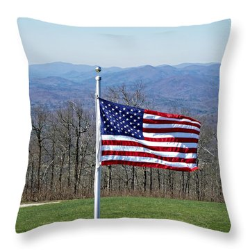 Majesty Throw Pillow by Susan Leggett
