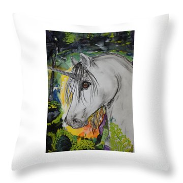 Majik Throw Pillow