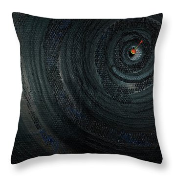 Make A Good Catch - Ecological Disaster  - Drilling Permit - Offshore - Energy - Crude - Petri Heil Throw Pillow
