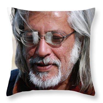 Make Do Two Throw Pillow