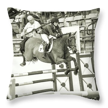 Make Every Second Count Throw Pillow