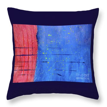 Make New Friends And Keep The Old Throw Pillow