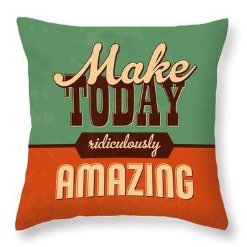 Positive Throw Pillows