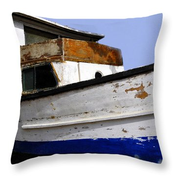 Makeshift Throw Pillow by David Lee Thompson