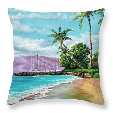 Makila Beach Throw Pillow