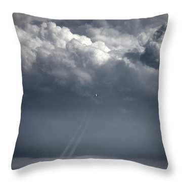 Makin Tracks Throw Pillow