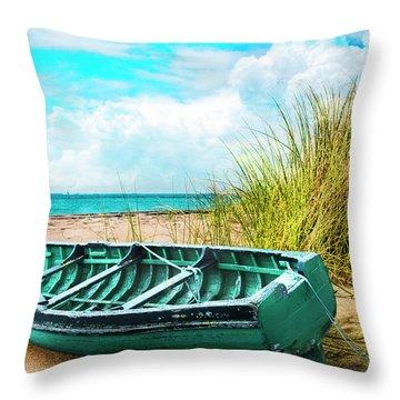 Making Summer Memories Throw Pillow