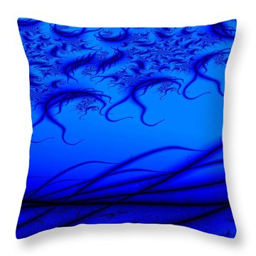 Making Waves Throw Pillow