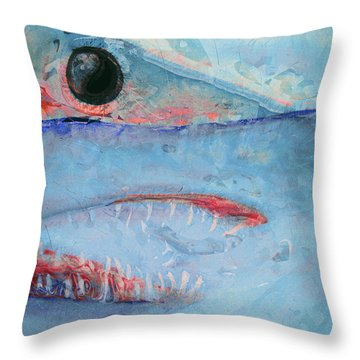 Mako Throw Pillow