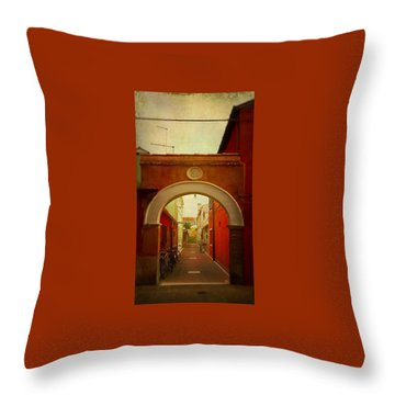 Malamocco Arch No1 Throw Pillow