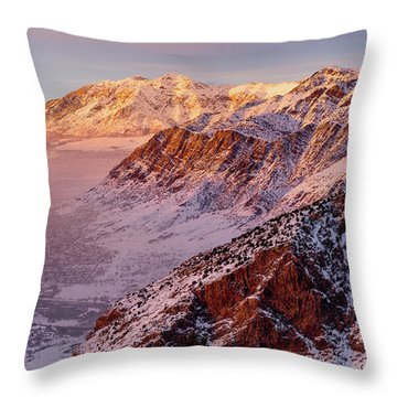 Malan's Sunset Throw Pillow