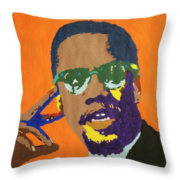 Malcolm X Throw Pillow