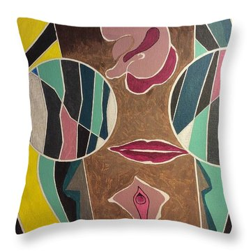 Male Throw Pillow