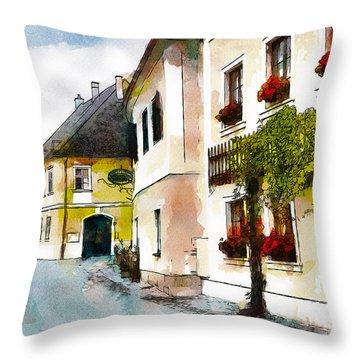 Malerische Throw Pillow by Greg Collins