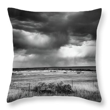 Malheur Storms Clouds Throw Pillow