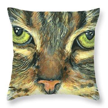 Malika Throw Pillow by Mary-Lee Sanders