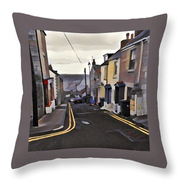 Mallams Throw Pillow