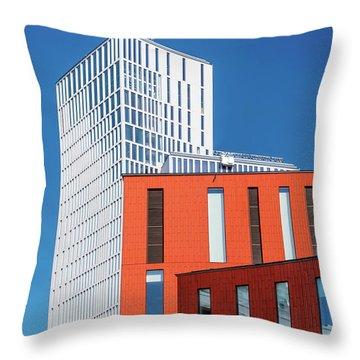 Malmo Live Building Throw Pillow