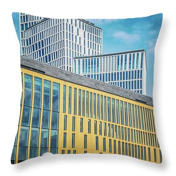 Malmo Live Building Blocks With Sculpture Throw Pillow