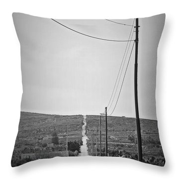 Malta Throw Pillow by Jonathan Kerckhaert