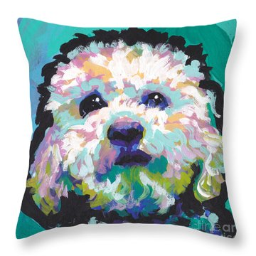 Malted Milky Poo Throw Pillow