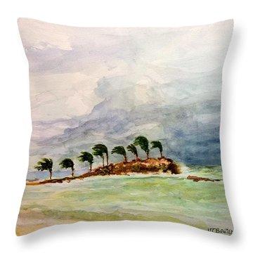 Malya Jamaica Throw Pillow