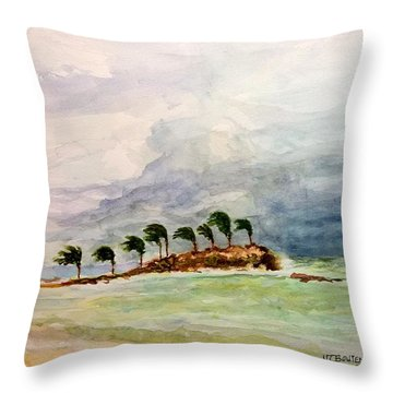 Malya Jamaica Throw Pillow