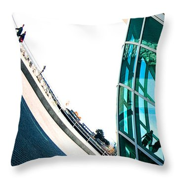 Mam Curved Throw Pillow