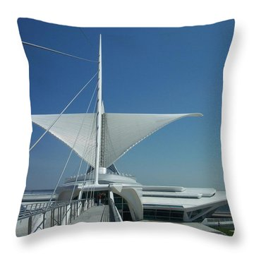 Mam Series 4 Throw Pillow by Anita Burgermeister