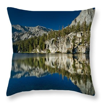 Mammoth Lakes Reflections Throw Pillow