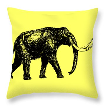 Mammoth Tee Throw Pillow by Edward Fielding