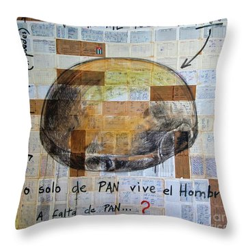 Mana' Cubano Throw Pillow