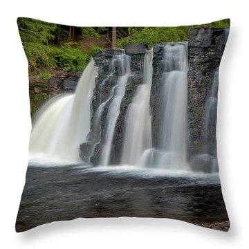 Manabezho Falls Throw Pillow