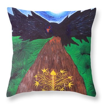 Managing Power Throw Pillow