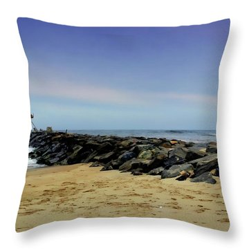 Manasquan  Throw Pillow