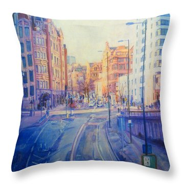 Manchester Light And Shade Throw Pillow