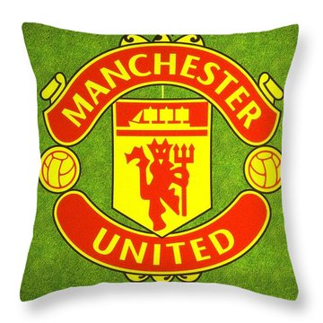 Manchester United Theater Of Dreams Large Canvas Art, Canvas Print, Large Art, Large Wall Decor Throw Pillow