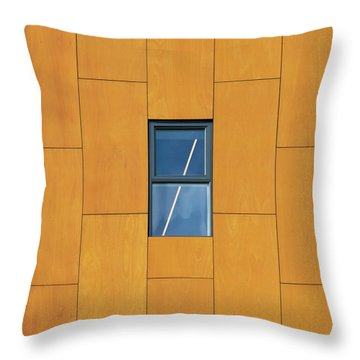 Manchester Windows 2 Throw Pillow