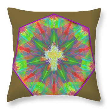 Mandala 1 1 2016 Throw Pillow
