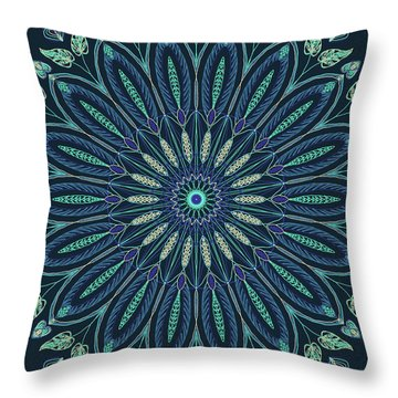 Mandala 3 Throw Pillow