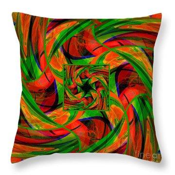 Mandala #36 Throw Pillow