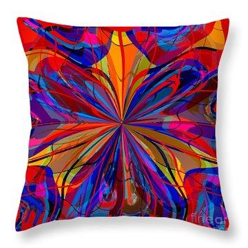 Mandala #4 Throw Pillow