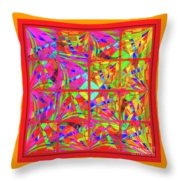 Mandala #48 Throw Pillow