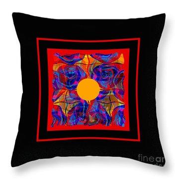 Mandala #5 Throw Pillow