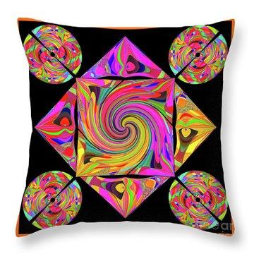 Mandala #50 Throw Pillow
