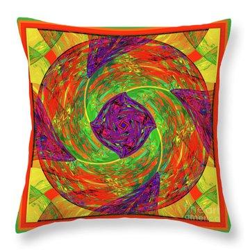 Mandala #55 Throw Pillow