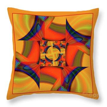 Mandala #56 Throw Pillow