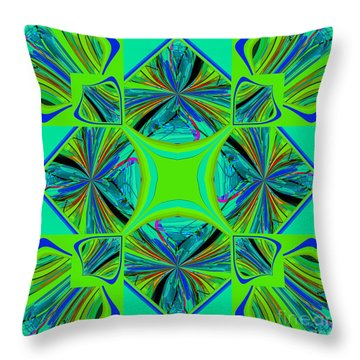 Mandala #7 Throw Pillow