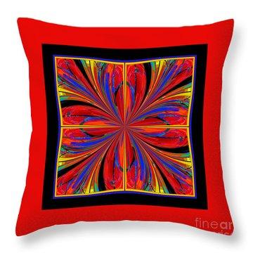 Mandala #8 Throw Pillow