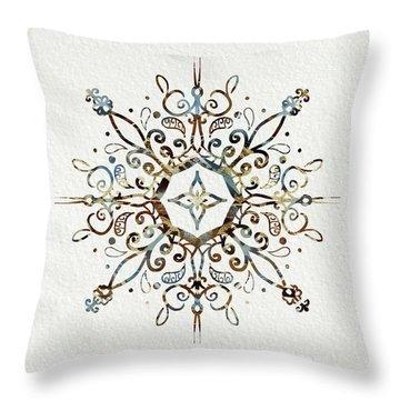 Mandala Earth And Water 3 Throw Pillow